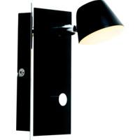 Tema vegg 5W LED Sort m/krom