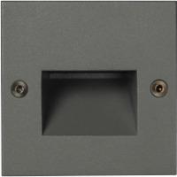 Unilamp Dot LED Square Ramp 6051 1,4w 3000K 350mA DC Grafitt
