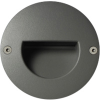 Unilamp Dot LED Round Ramp 6052 1,4w 3000K 350mA DC Sølv