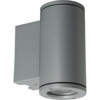Tube Opp + Ned 2x6W GU10 Sølv