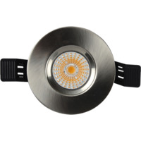 Altea Fast Warmdim Downlight 8W Børstet Stål IP65