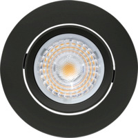 Alfa LED Downlight 10W Matt Sort IP44