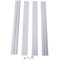 Påveggsramme til LED panel Hvit 600x600