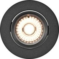 Alfa 360-tilt Downlight Warmdim 8W matt sort