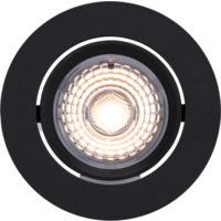 Alfa 360-tilt Downlight 8W matt sort