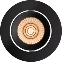 Alfa reflektor Downlight Warmdim 10W matt sort