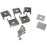Tilbehørssett til aluminiumsprofil 1612