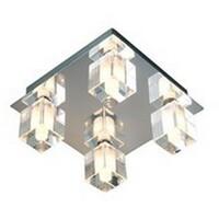 Crystal Cube Taklampe 4x20w IP44