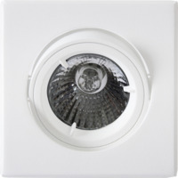 Tilo Downlight 240V/50W GU10 Hvit IP23
