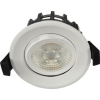 JUNO GYRO COB+ Downlight 10W Matt Hvit