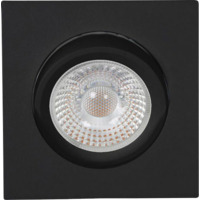 Tilo Cob+ LED 10W Matt Sort
