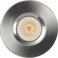 Altea Fast LED Downlight 8W Børstet Stål IP65