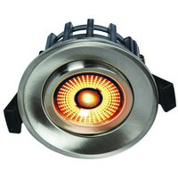 Juno GyroCOB+ 10W WarmDim Downlight Børstet Stål