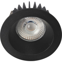Juno Soft Cob+ 10W WarmDim Downlight Matt Sort