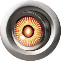 Gyro WarmDim 9W Børstet Stål