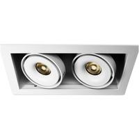Q-Light Dorado Duo 2x7W LED firk. hvit