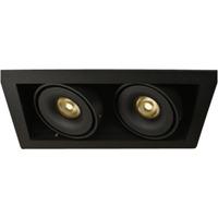Q-Light Dorado Duo 2x7W LED firk. sort