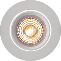 Alfa Downlight Warmdim 10W matt hvit
