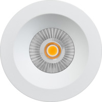 Alfa reflektor soft LED 10W matt hvit IP44