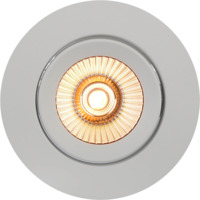 Alfa reflektor 360-tilt LED warmdim 8W matt hvit IP44
