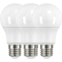 LED Pære 8,5W E27 3 Pk