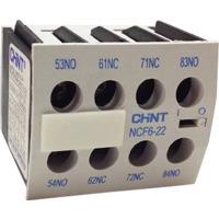 HJELPEKONTAKTBLOKK-NC6-4NO+0NC