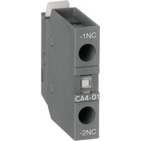 Hjelpekontakt CA4-01, 1NC frontmontert ABB
