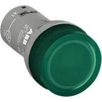 Signallampe Grønn, LED, CL2-523G 230VAC/DC ABB