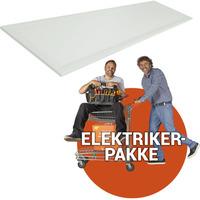 Ferdig montert LED panel - 30x120cm 4000k