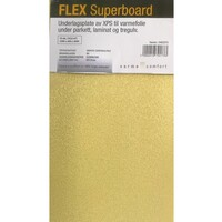 Flex Extreme Board Hvit 6mm 30T 120X80 cm
