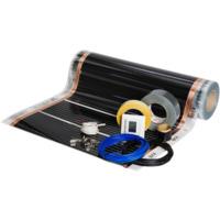 Foliekit Namron 14m² 60cm 60W/m 23,3m m/digital termostat