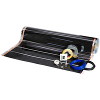 Foliekit Namron 6m² 100cm 60W/m 6,0m m/digital termostat