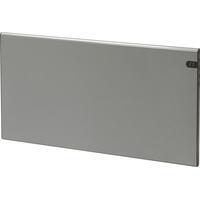 Varmeovn H30 1200w Panel Sølvgrå 94x37cm GLAMOX