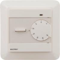 Multireg termostat 4 funk 16A Hvit