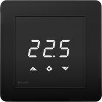 Heatit Z-TRM3 Sort Z-Wave termostat 3600W 16A