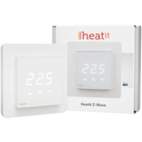 Heatit Z-TRM3 Hvit Z-Wave termostat 3600W 16A