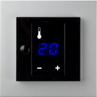 Plus display termostat 3200W ALU ELKO
