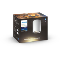 Pillar HUE ext. kit single spot white (without remote)