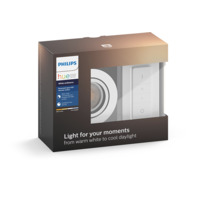 Philips Hue WA Milliskin Rund Downlight 5,5W Hvit m/dimmer