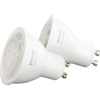 Philips Hue W GU10 Lyskilde 5,5W 2pk
