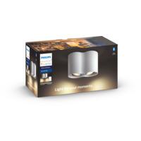Philips Hue WA Pillar Dobbel Spot 2x5,5W Hvit inkl dimmer