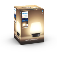 Philips Hue WA Wellness Bordlampe 9,5W Sort inkl dimmer