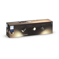 Philips Hue WA Runner Taklampe 3x5.5W Sort ink dim