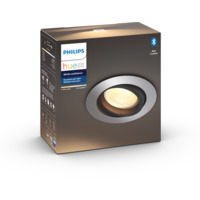 Philips Hue WA Milliskin Rund Downlight 5,5W Alu