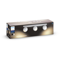 Philips Hue WA Buckram Taklampe 3x5,5W Hvit inkl dimmer