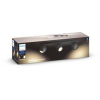 Philips Hue WA Buckram Taklampe 3x5,5W Sort inkl dimmer