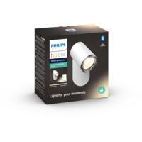 Philips Hue WA Adore Singel Spot 5,5W IP44 Hvit m/dimmer