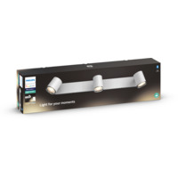 Philips Hue WA Adore Trippel Spot 3x5.5W IP44 Hvit ink dim