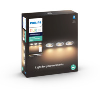 Philips Hue WA Adore Recessed Spotlight 5W 3pk