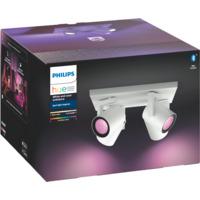 Philips Hue WCA Argenta Firedobbel Spotlight Hvit 5.7W BLT